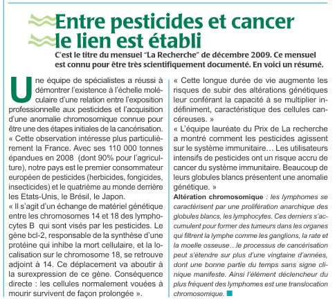pesticides-cancer